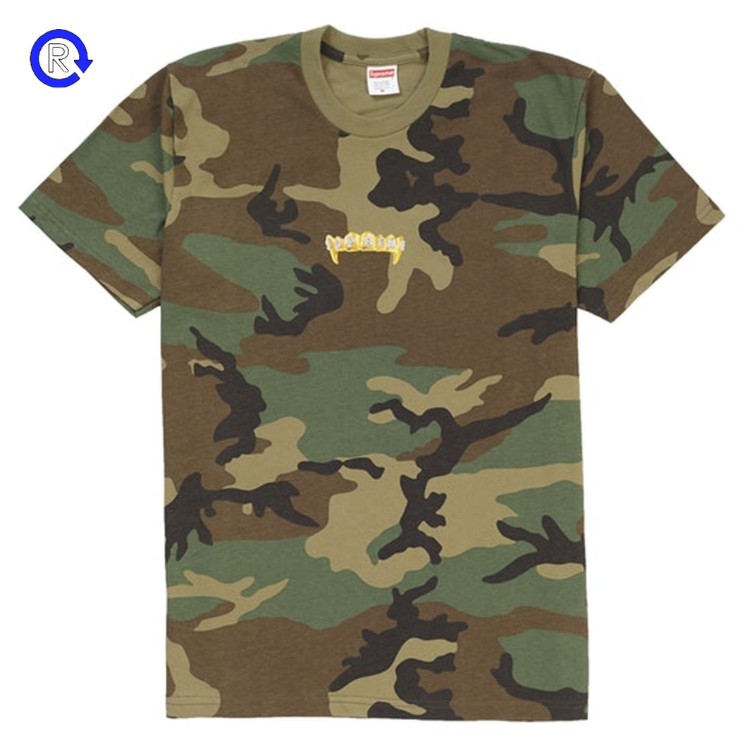 Supreme Woodland Camo Fronts Tee (SS19)