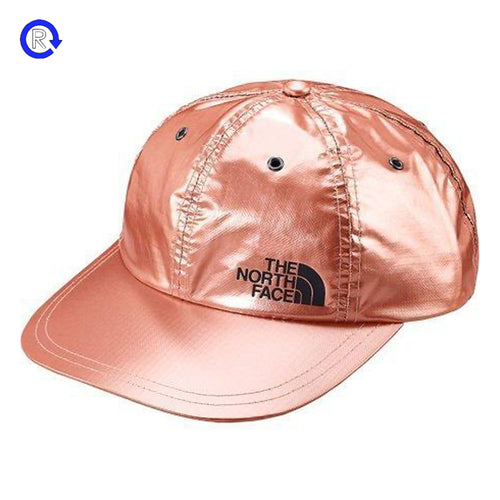 Supreme x North Face Rose Gold Metallic 6-Panel (SS18)