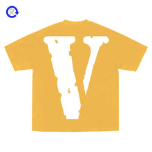Vlone x YoungBoy NBA Yellow Peace Hardly Tee