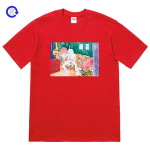 Supreme Red Bedroom Tee (FW18)