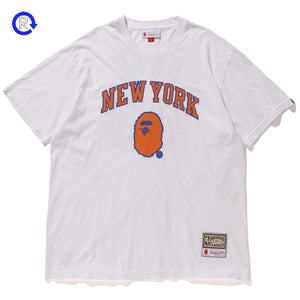 A Bathing Ape Bape x NBA Knicks Tee