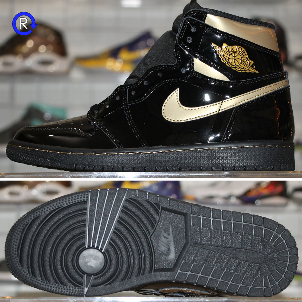 'Black/Metallic Gold' Air Jordan 1 High OG (2020) | Size 11.5 Brand new, deadstock.