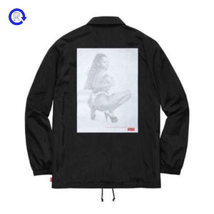 Supreme Black Digi Coach Jacket (SS17)