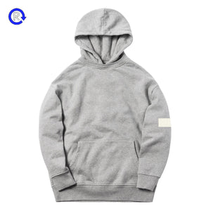 Kith Williams II Heather Grey Sleeve Box Logo Hoodie