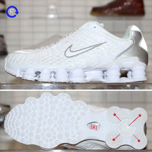'White/Metallic Silver' Nike Shox TL (2019) | Size 12 Condition: 9.5/10.