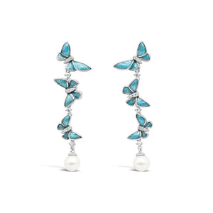 Latitude Butterfly Earrings