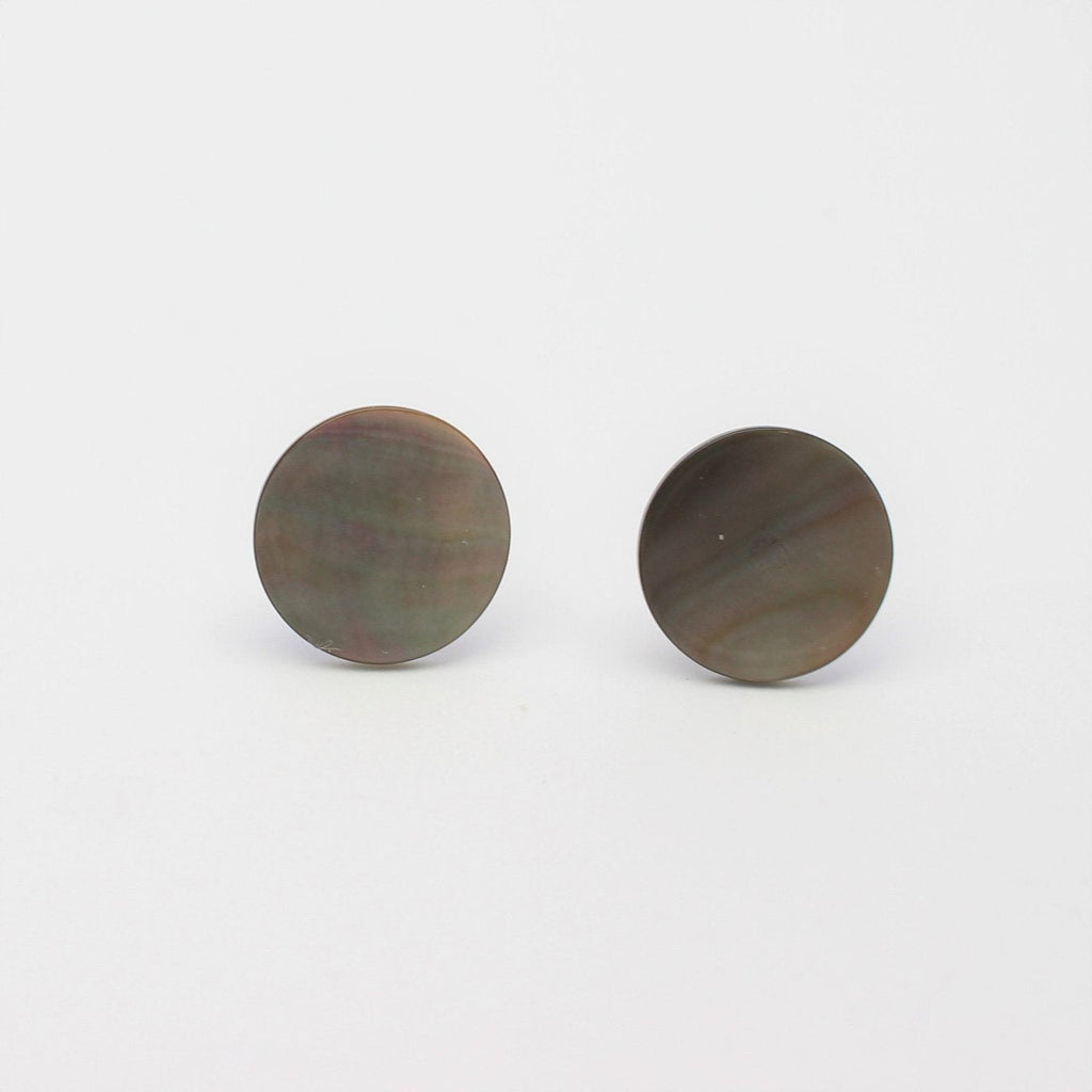12mm Pearl Shell Studs