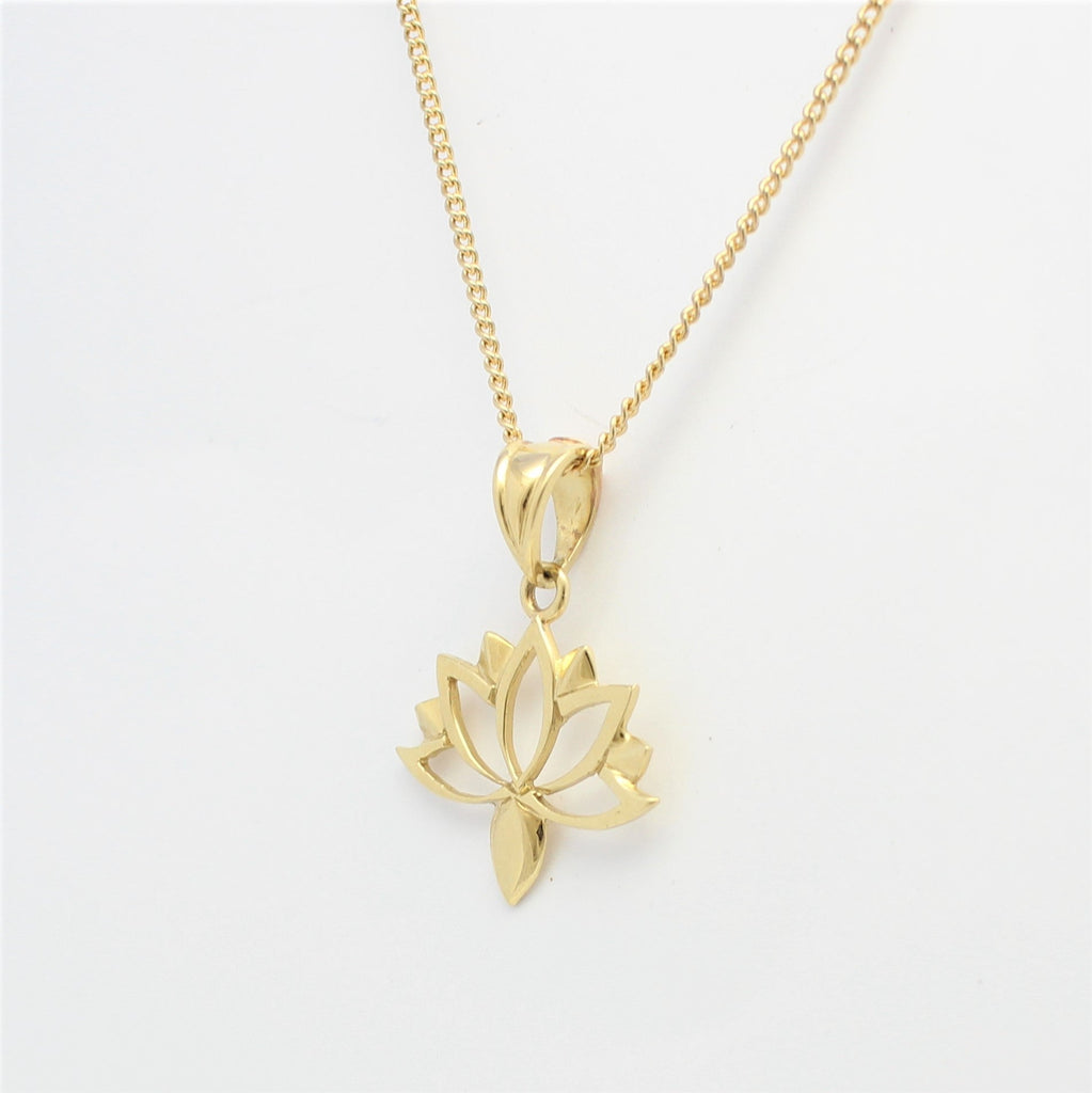 Lotus Love 9ct Yellow  Gold