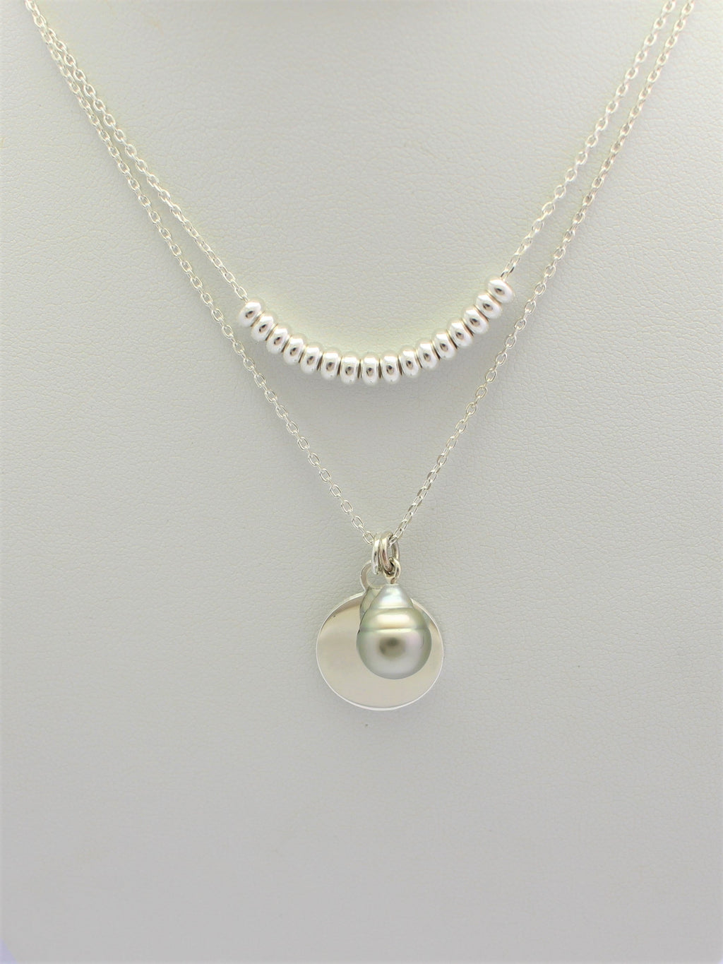 Pelseart Double Circle Necklet
