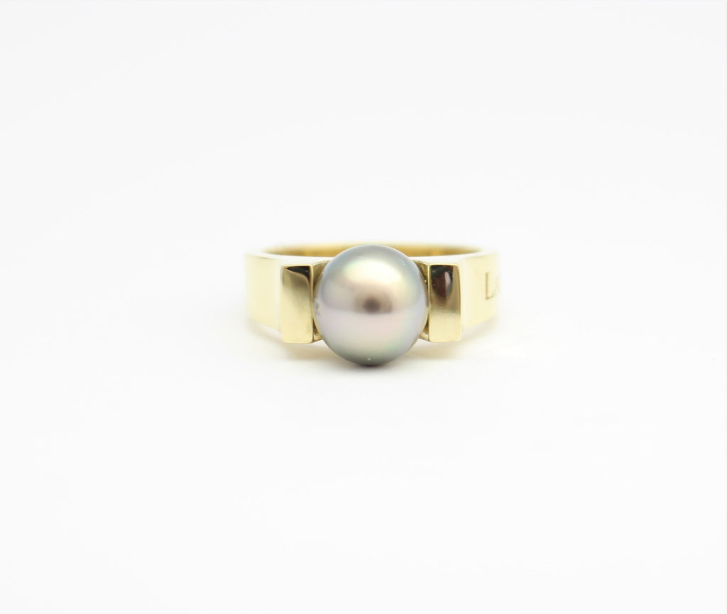 Gold Latitude Classic Ring