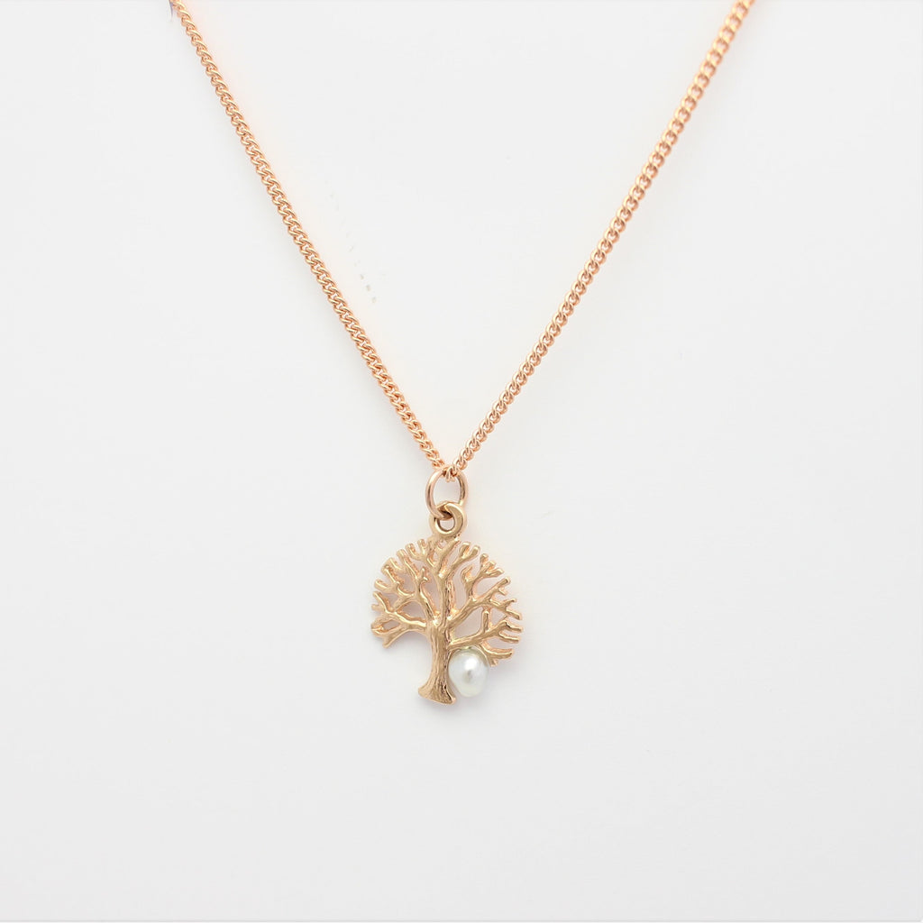Rose Tree of Life Pendant