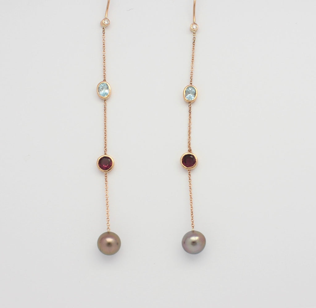 A'mor de Basile Drop Earrings