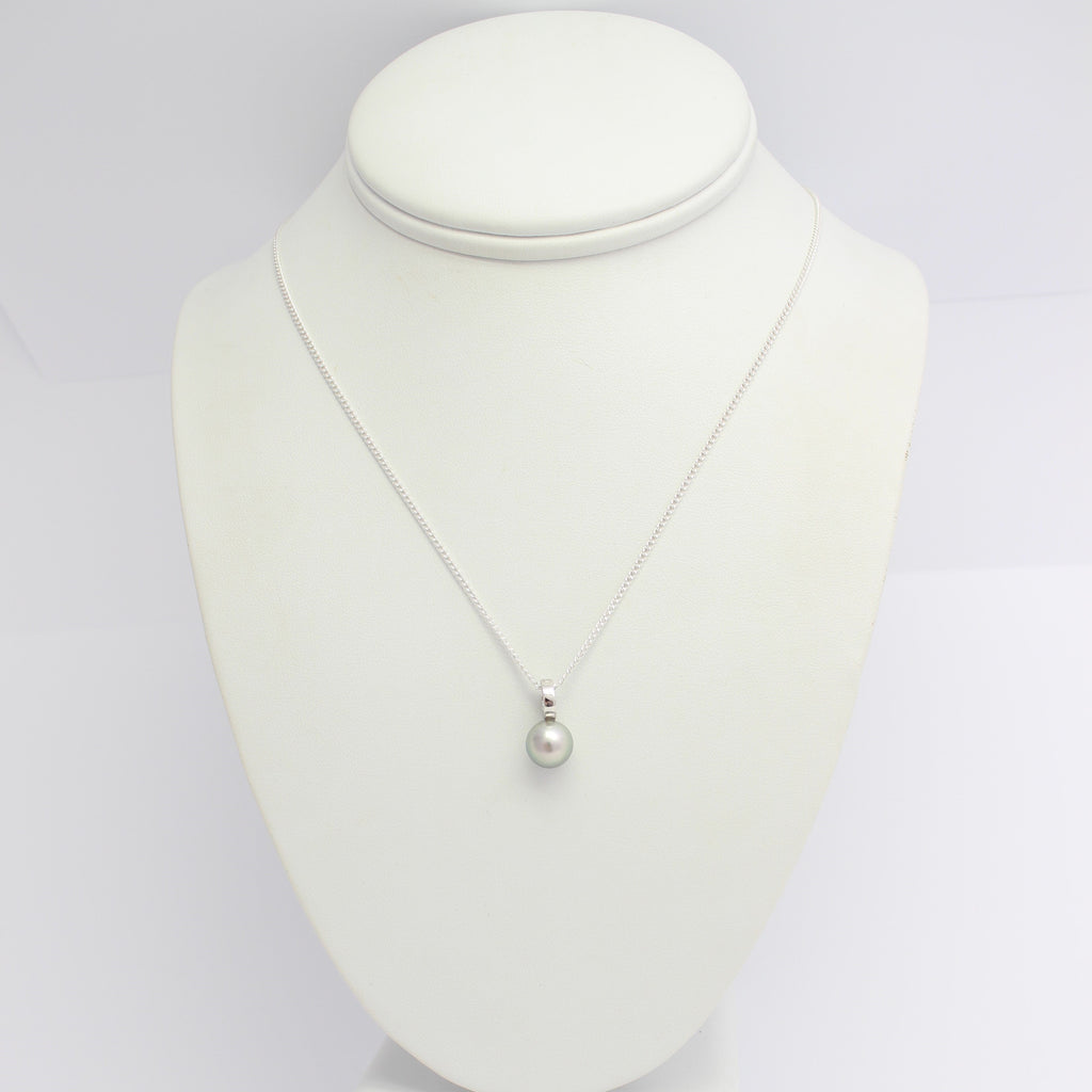 Abrolhos Island Pearl on 9ct White Gold Pendant