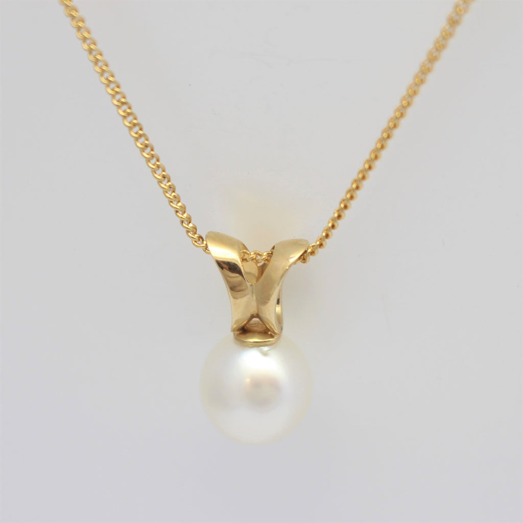 Split South Sea Pearl Pendant