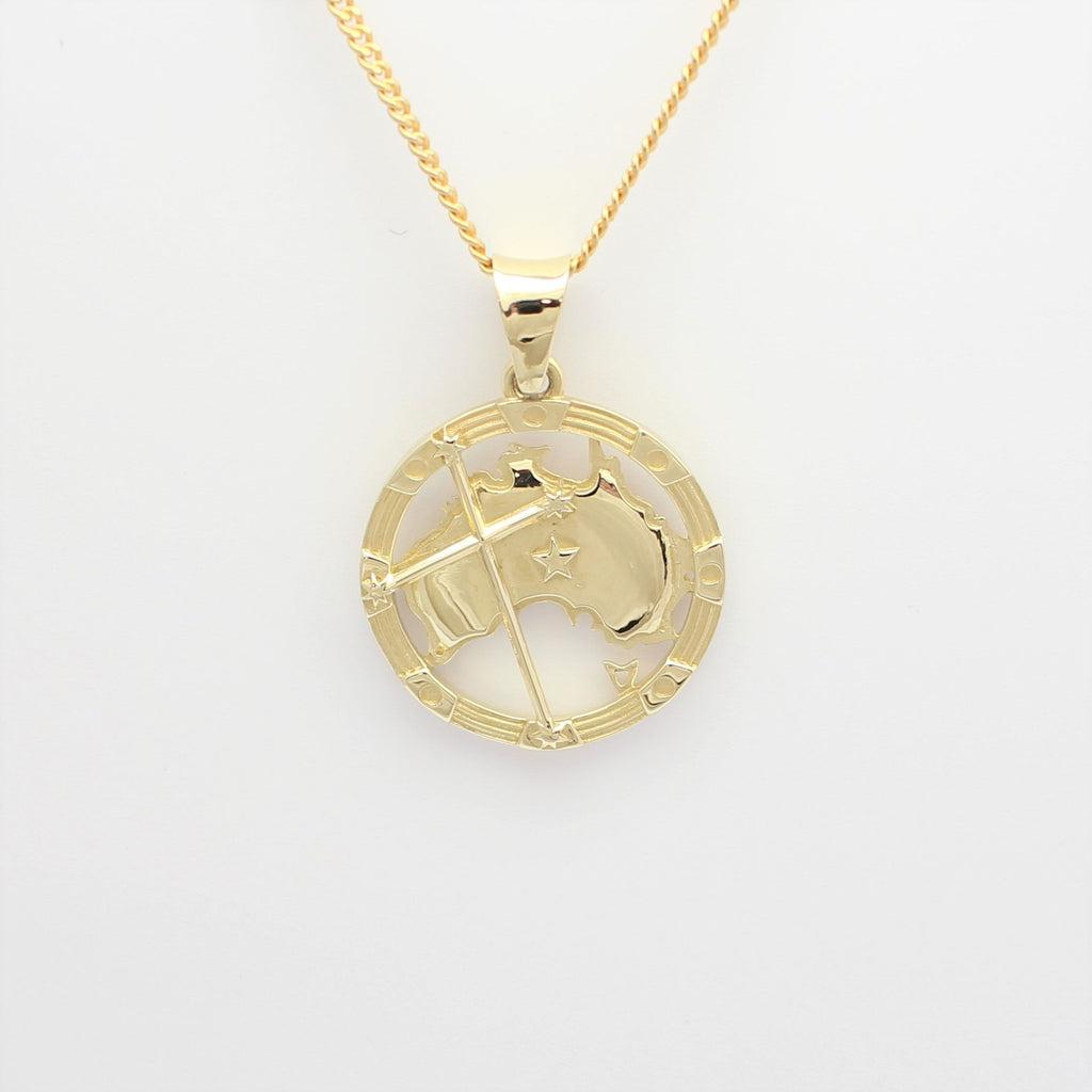 The Australia Pendant Gold