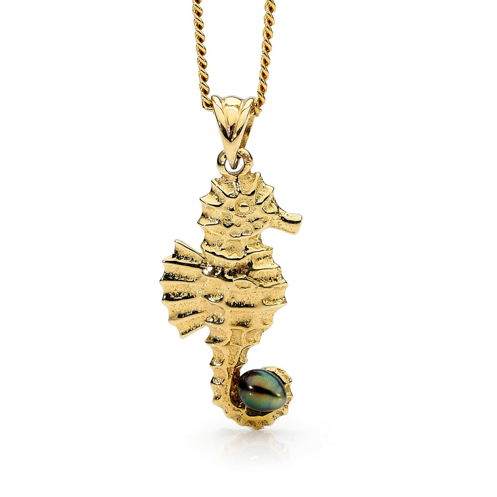 Seahorse 2 Yellow Gold