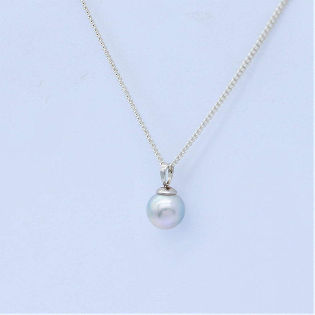 Abrolhos Island Pearl Sterling Silver Classic Bail