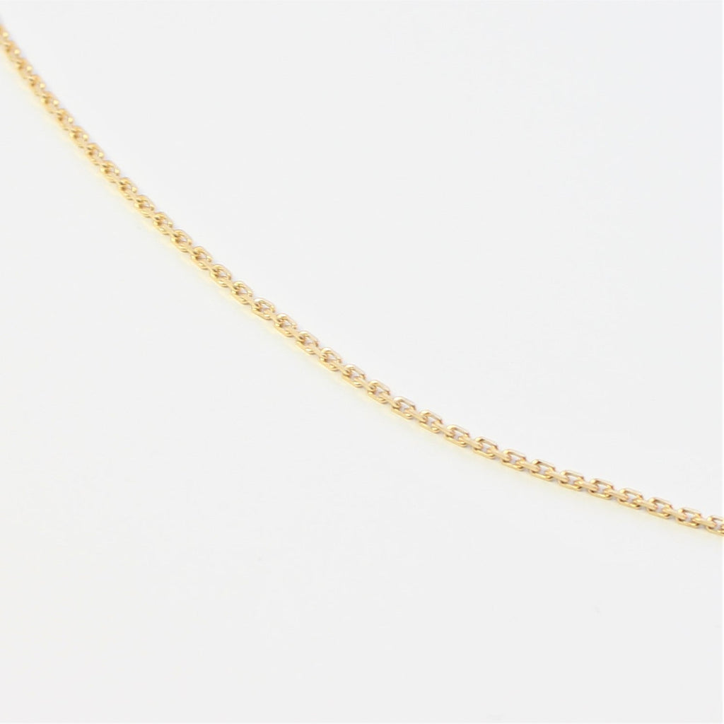 Adjustable Italian Style Slider Chain 9ct Yellow Gold