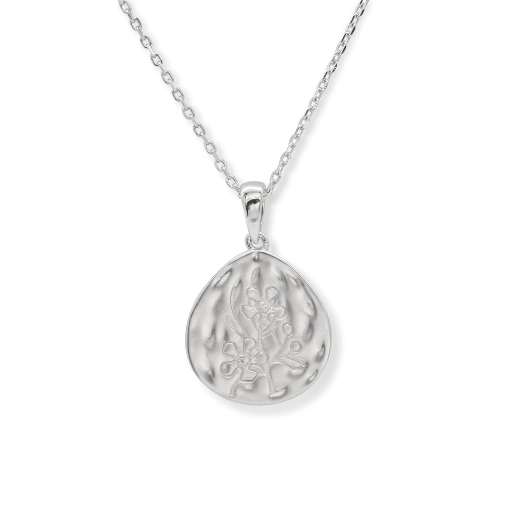 Geraldton Wax Pendant Sterling Silver