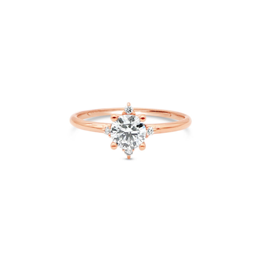 Bright Star Diamond Ring by OLYV