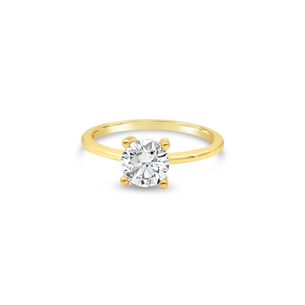 Gaia Diamond 9ct Yellow Gold Ring by OLYV