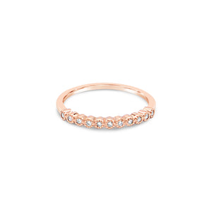 Eternity Rose Diamond Ring by OLYV