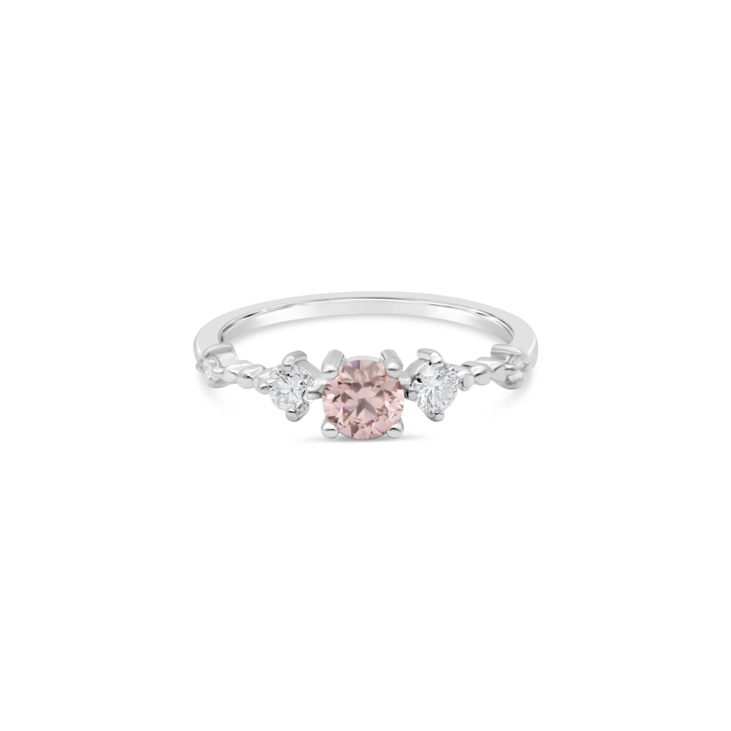 Stars Aligned Pink Diamond Ring by OLYV