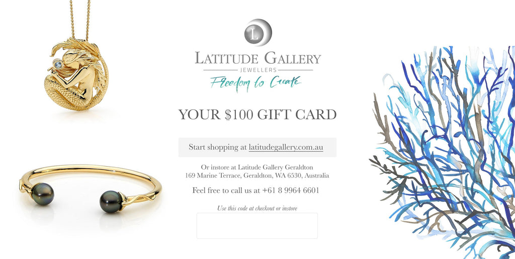 Latitude Gallery Gift Card (Print at home)