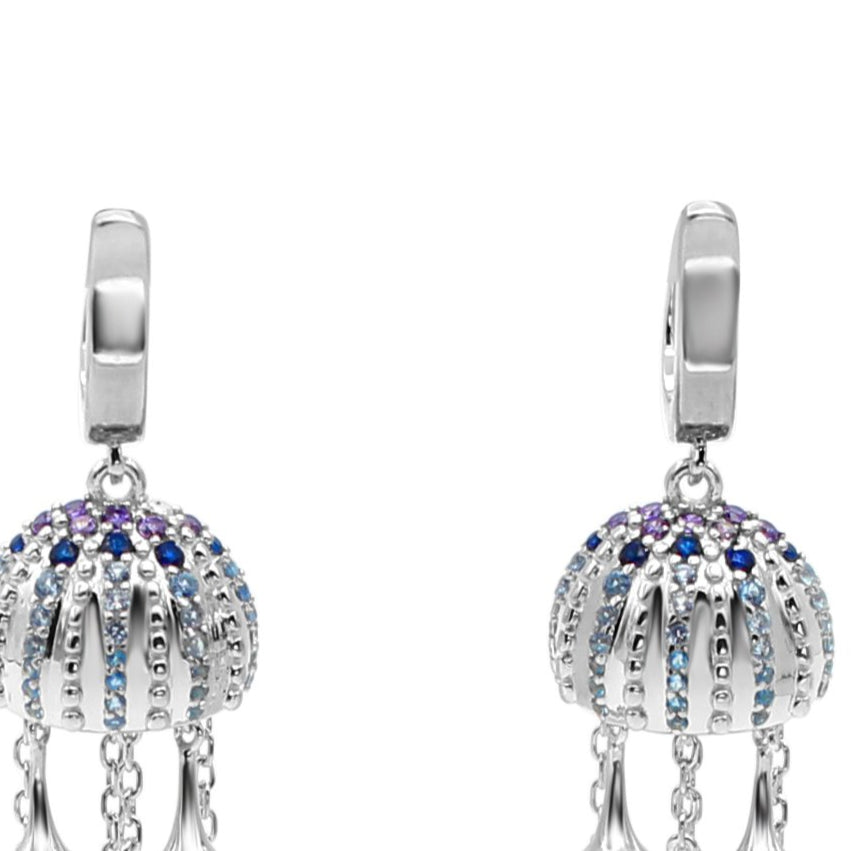 Latitude Jellyfish Earrings