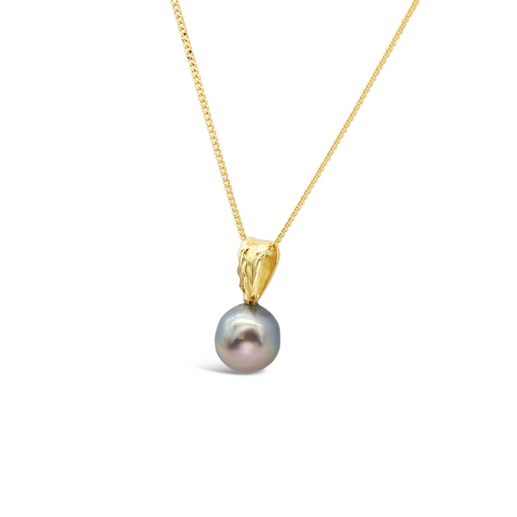Island Bound Wave Pendant with Abrolhos Pearl
