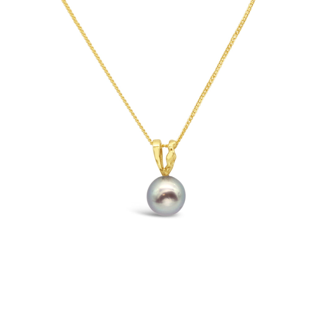 Island Bound Wave Pendant with Abrolhos Island Round Pearl