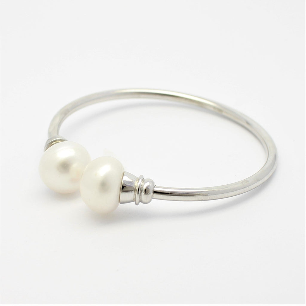 Freshwater Pearl Tube Bangle