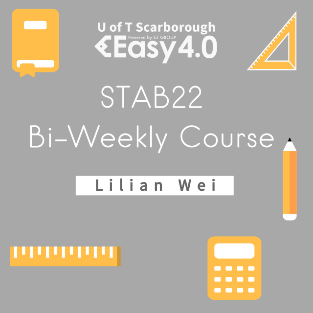 2019 Summer STAB22 Bi-Weekly Course