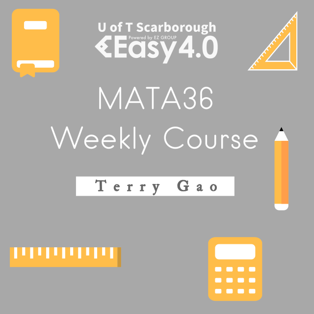 2019 Winter MATA36 Weekly Course