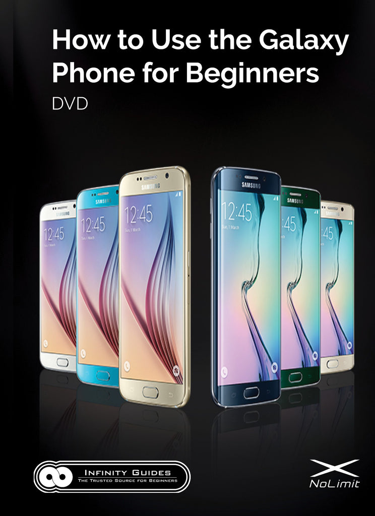 How to Use the Samsung Galaxy for Beginners DVD (2018-2019 phones)