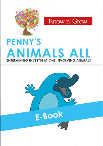Animals All - E-Book