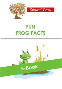 Fun Frog Facts - E-Book