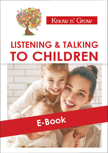 Listening & Talking to Children - E-Book