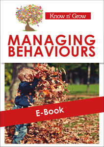 Managing Behaviour - E-Book