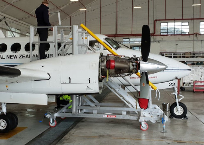 Ohakea Air Force Base Aircraft Meets Height Access Solution