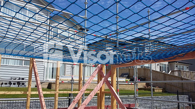visor net scaffold netting