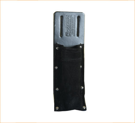 Leaches Black Soft Suede Level Pouch