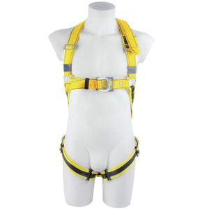 BIG BEN STANDARD HARNESS WITH ELASTICATED LEG STRAPS - QUICKCLIP