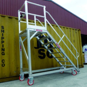 Heavy Duty Maintenance Platform with 45Deg Stair