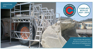 Above Ground Loader Platforms