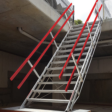 ADJUSTASTAIRS 1200MM WIDE ALUMINIUM - SafeSmart Access