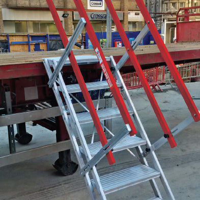 Portable Truck Access AdjustaStairs