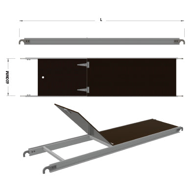 Aluminium Access Deck - Tubular