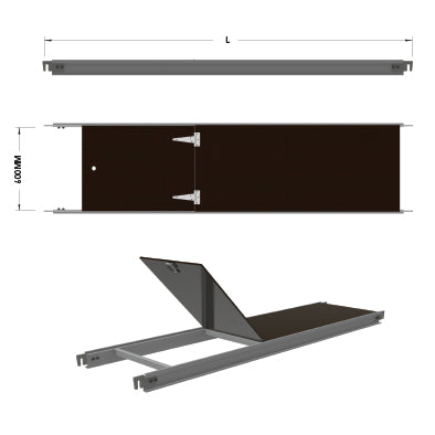 Aluminium Access Deck - U Transom - SafeSmart Access
