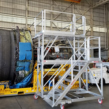 B787 Maintenance Stands and Platforms